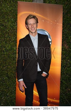 LOS ANGELES - SEP 28:  Gabriel Mann arrives at the ABC Sunday Night Event at Lexington Social Club on September 28, 2012 in Los Angeles, CA