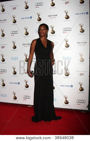 LOS ANGELES - SEP 21:  Sufe Bradshaw arrives at the Primetime Emmys Performers Nominee Reception at Spectra by Wolfgang Puck on September 21, 2012 in Los Angeles, CA
