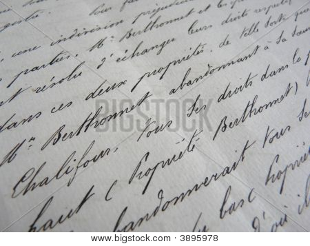 Old Handwritten Documents