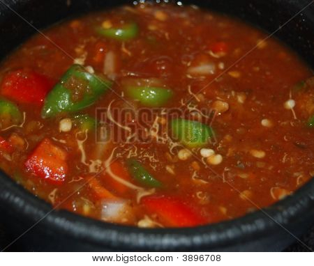 Salsa With Peppers