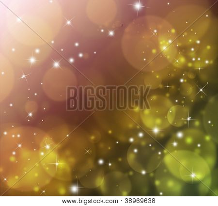 Abstract background with lights