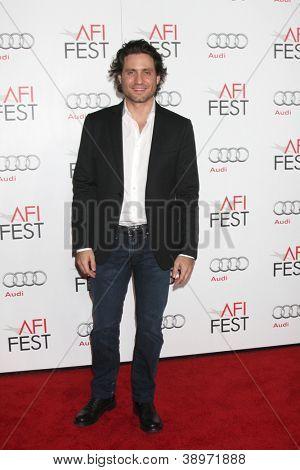 LOS ANGELES - NOV 7:  Edgar Ramirez arrives at the