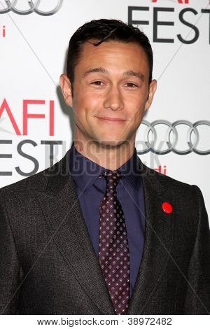LOS ANGELES - NOV 8:  Joseph Gordon-Levitt arrives at the