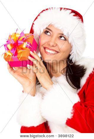 Weihnachts-Geschenk von santa