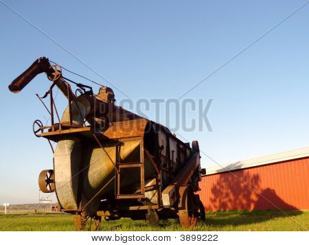 Antique Thresher