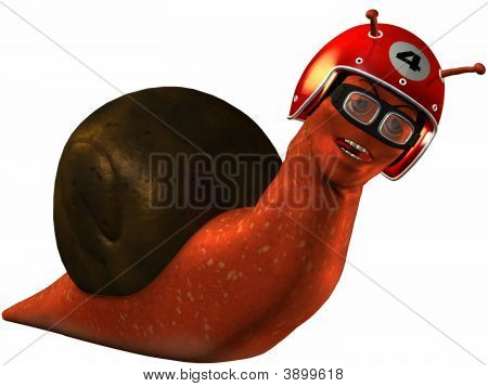 Toon Racing Snail