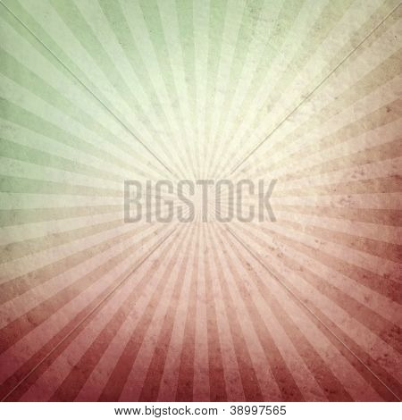 vintage background with rays pattern