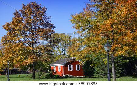 Garden house in Historic greenfield village