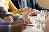 picture of business meetings  - Close - JPG