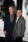 LOS ANGELES - NOV 8:  Daniel Day-Lewis, Steven Spielberg arrives at the