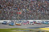 FORT WORTH, TX - NOV 04:  The NASCAR Sprint Cup Series take to the AAA Texas 500 at Texas Motor Spee