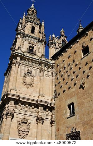 House Of Shells And University Of Salamanca
