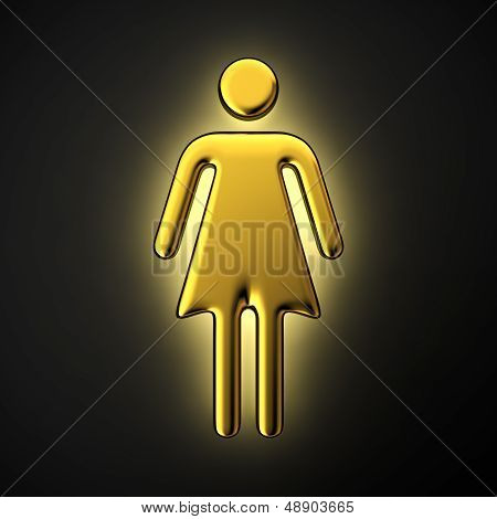 Luminous Woman