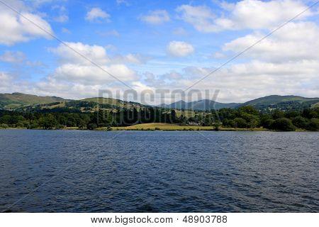 Windermere lake, England
