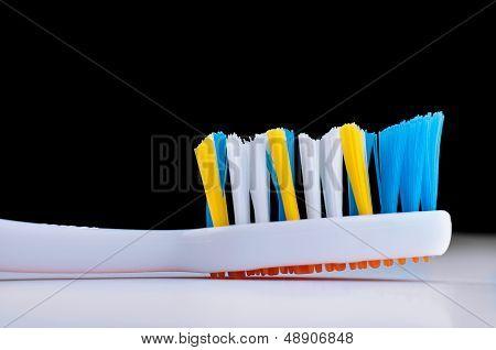 Toothbrush closeup