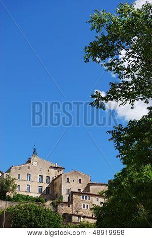Bonnieux Village, France