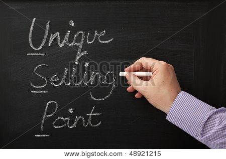 USP or Unique Selling Point