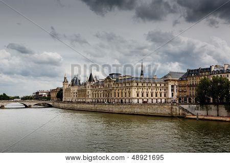 La Conciergerie, A Former Royal Palace And Prison In Paris, France
