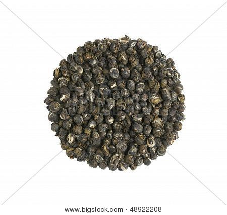 Jasmine Dragon Pearl Flower Tea Pile