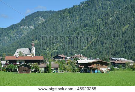 Waidring vor der Steinplatte,Tirol,Austria
