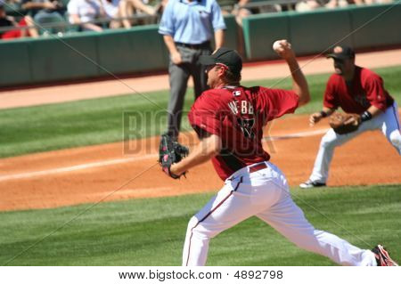 Arizona Diamondbacks Brandon Webb