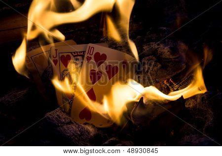 Burning Flush