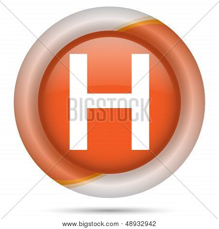 Orange Plastic Icon