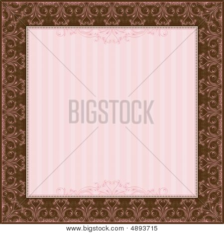 Square Certificate Background, Vector