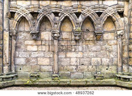 Abbey Ruins, detail
