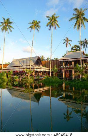 The beautiful Anantara Phuket Villas hotel in Thailand.
