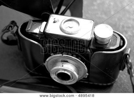 Vintage Camera B&w