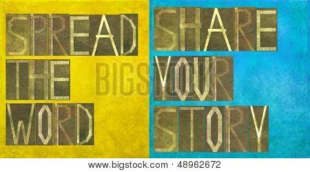 Erdig strukturierten Hintergrund-Bild und Design-Element mit die Worten