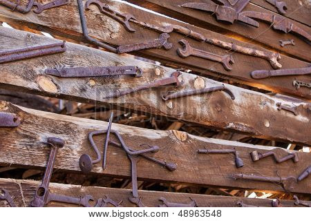 Old Rustic Tools