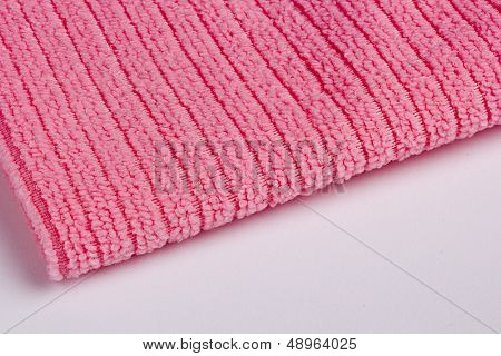 Red Terry Towel