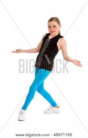 Happy Tween Hip Hop Dancer