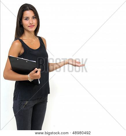 Twenty year old woman
