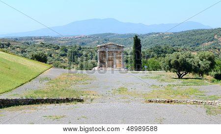 The Mausoleum In Ancient Messene (messinia), Peloponnes, Greece