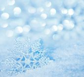 foto of frozen  - Winter background - JPG