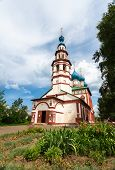 stock photo of uglich  - Korsun church in Uglich day light positive key outdoors shot - JPG