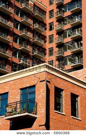 Brick Condo Building