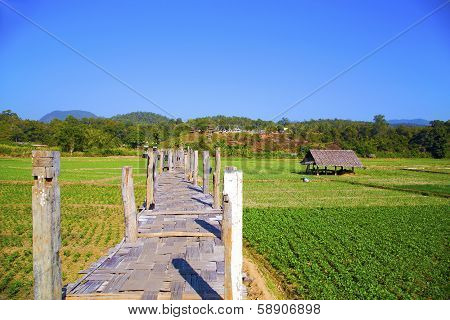 Su Tong Pae bridge, Mae Hong Son, Thailand