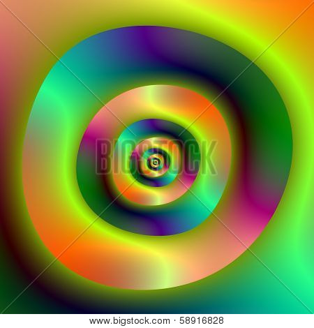 Psychedelic Inside Outside Rings