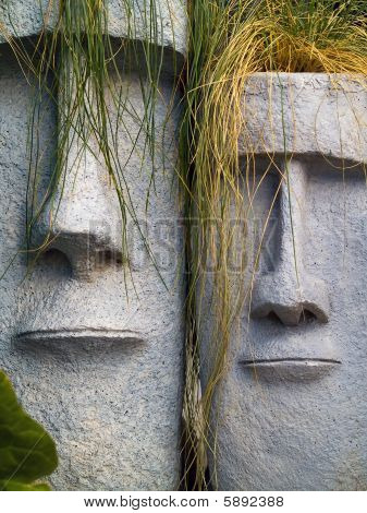 Easter Island Planters
