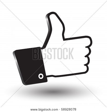 Cursor Hand Awesome 3D