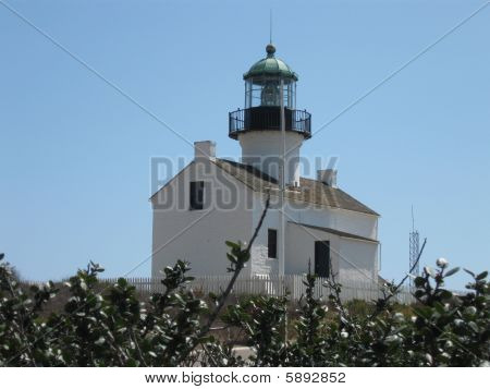 Cabarillo Light House in San Diego
