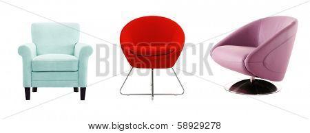 cutout chair composition