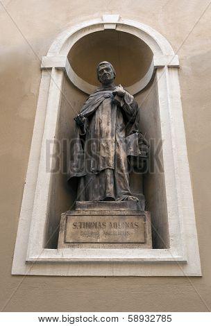 St Thomas Aquinas.