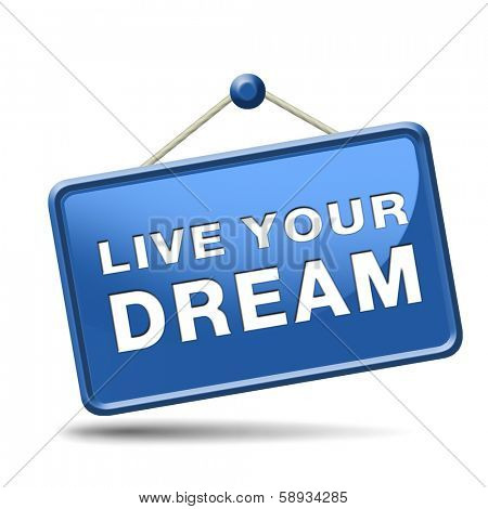 live your dream come true make dreams into reality realize your goals your life  house car vacation holiday