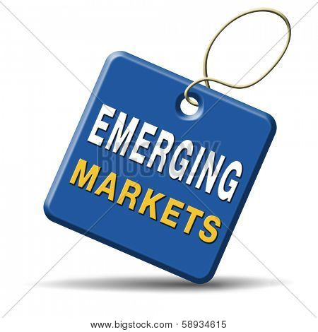 emerging or growth market new fast growing economy frantic economies