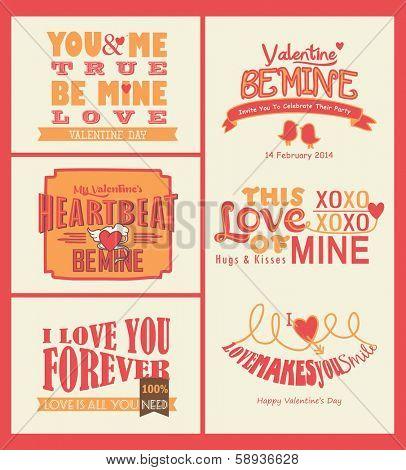Valentine's Day Labels Printable